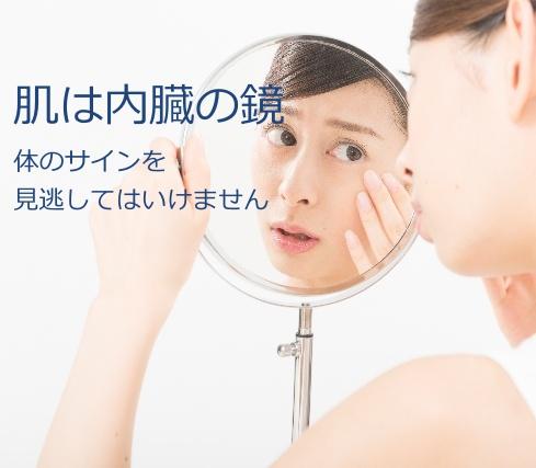 肌は内臓の鏡
