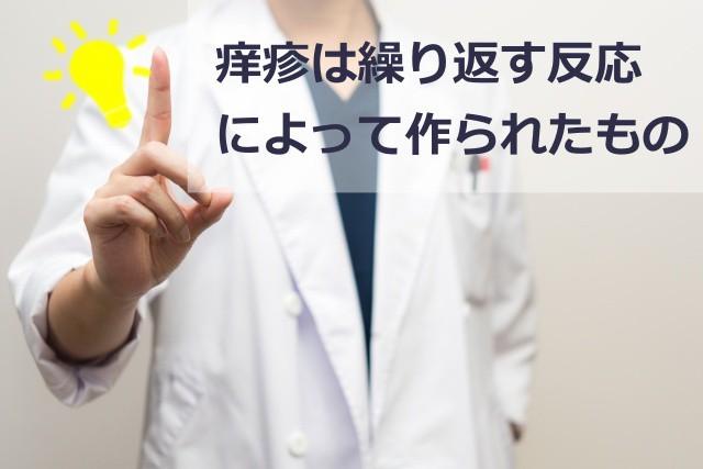 痒疹の原因