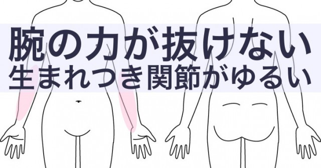 腕がゆるいくて筋肉が硬いかゆみ