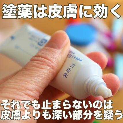 薬が効かない場合は皮膚よりも深い部分を疑う