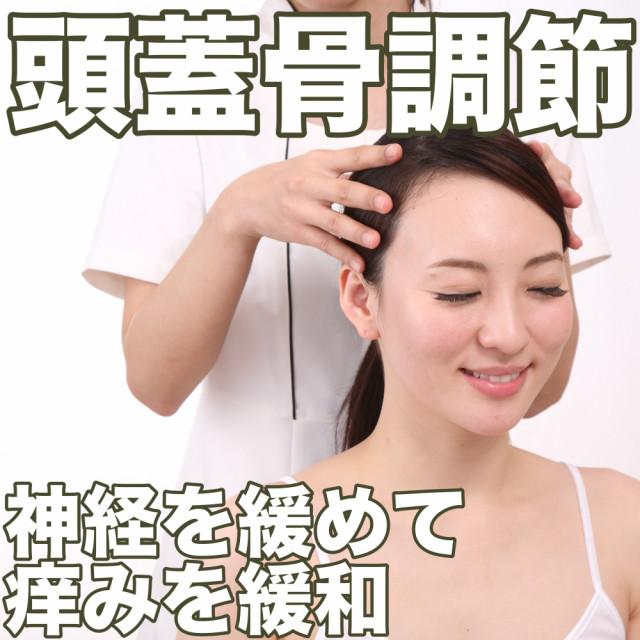 頭皮の痒みは頭蓋骨を調節してかゆみを緩和